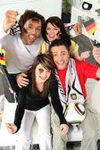 德国球迷庆祝 — 图库照片