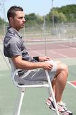 Sędzia tenisowy — Zdjęcie stockowe