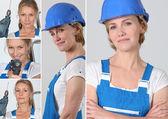Women laborer — Stock Photo