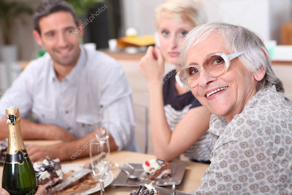 Family meal — Stock Photo #8066877