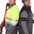 Stock Photo: Construction crew