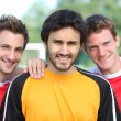 A group of football players — Stock Photo #8078703