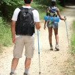Young couple hiking — Stock Photo #8079923
