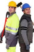 équipe de construction — Photo