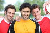 Un grupo de jugadores de fútbol — Foto de Stock