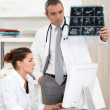 Stock Photo: Radiologist