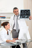 Radiologist — Stock Photo