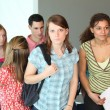 Group of college students — Stock Photo #8100908