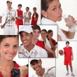 Stock Photo: Sport mosaic