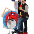 Couple of diy — Stock Photo #8101112