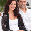 Good looking couple — Stock Photo #8101180