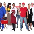 Successful workers — Stock Photo #8102241