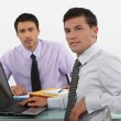 Two male office workers — Stock Photo #8108054