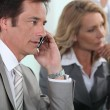 Businessman on the phone — Stock Photo #8108743