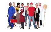 Successful workers — Stock Photo