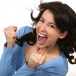 Jubilant woman — Stock Photo #8112193