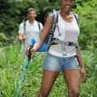 Couple hiking — Stock Photo #8120626