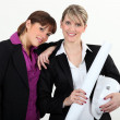 Female architects — Stock Photo