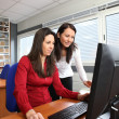 Employees at work — Stockfoto
