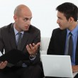 Men discussing a business proposition — Stock Photo #8129055