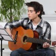 Young guitarist. — Stock Photo #8129110