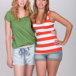 Stockfoto: Teenage girls
