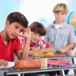 Boys at school — Stock Photo