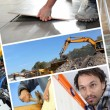 Building and construction - Stock Photo
