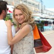 Couple shopping — Stock Photo #8169582