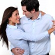 Couple dancing - Foto Stock