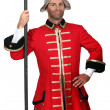 Stock Photo: Palace guard