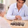 Playing chess — Stock Photo #8176925