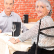 Couple dining — Stock Photo #8178769