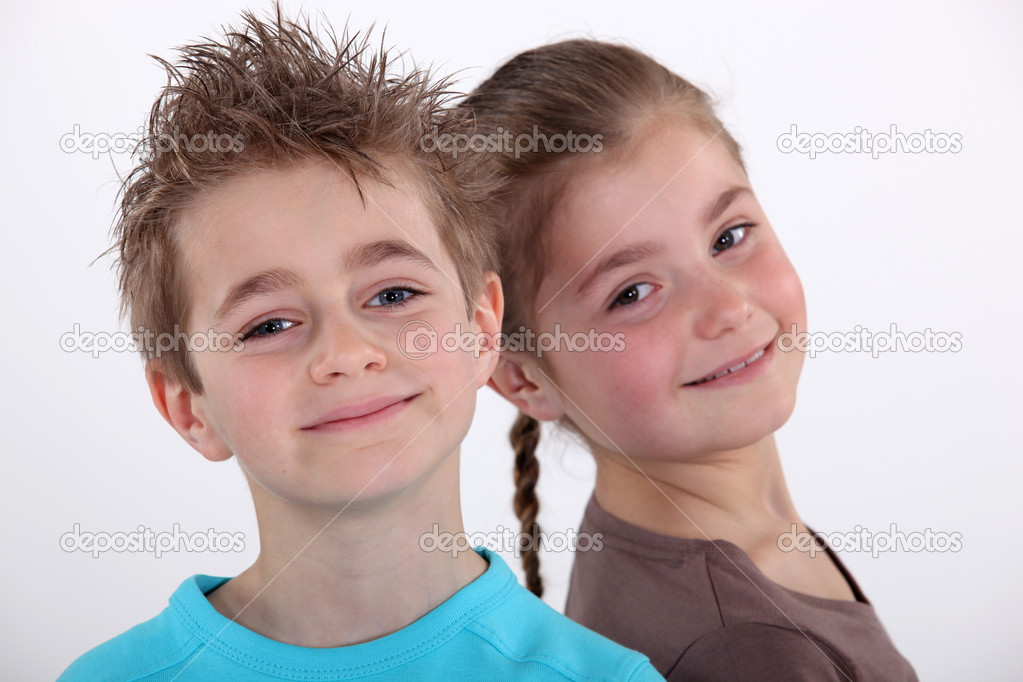 Siblings — Stock Photo #8170122