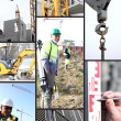 Stock Photo: Construction site