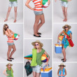 Ready for the beach - Stock fotografie