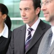 Managers standing outdoors — Stock Photo #8327900