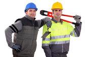 Two handyman. — Stock Photo