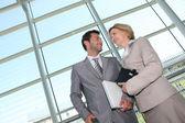 Business couple. — Stock Photo