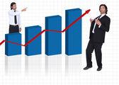 Curso de negocios — Foto de Stock