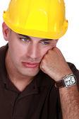 Dejected entrepreneur — Stock Photo