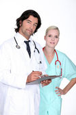 Doctor member staff — Stock Photo