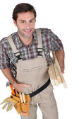 Content builder with tools. — Stock Photo