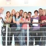 Teachers and pupils — Stock Photo