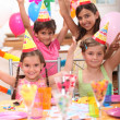 Children at a birthday party — Stock Photo #8333698