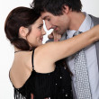 Stock Photo: Couple dancing