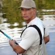 Fishermfishing — Stock Photo #8334909