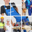 Building professionals — Stock Photo