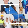 Stock Photo: Building professionals