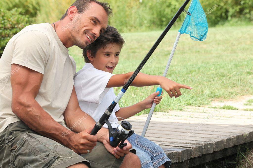 папа ловит рыбу сонник
